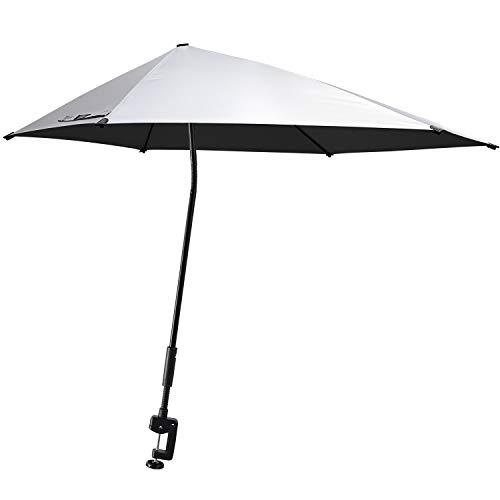 G4Free UPF 50+ Beach Umbrella