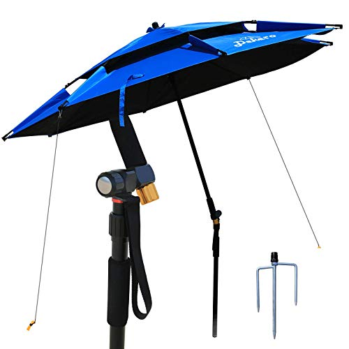 Dekero Large Windproof Beach Umbrella