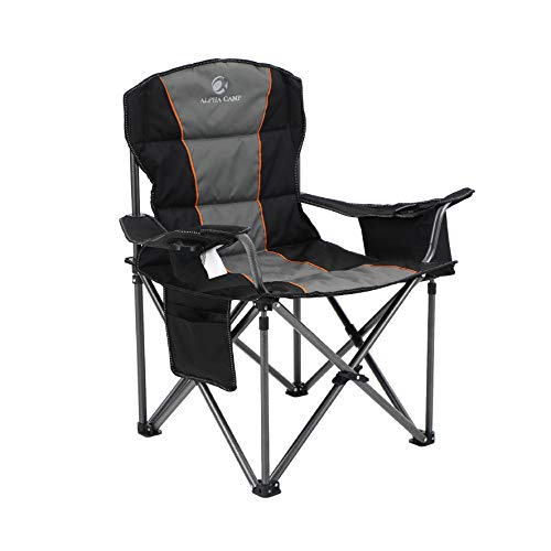 ALPHA CAMP Portable Camping Chair for Outdoor