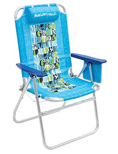 Margaritaville High and Wide Folding Beach Chair