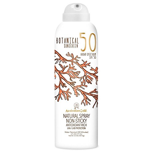 Australian Gold Botanical Sunscreen Natural Spray SPF 50