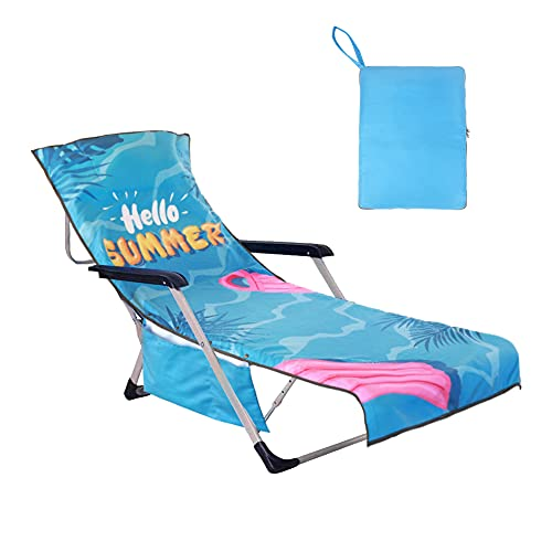 YOULERBU Lounge Chair Cover with Pillow