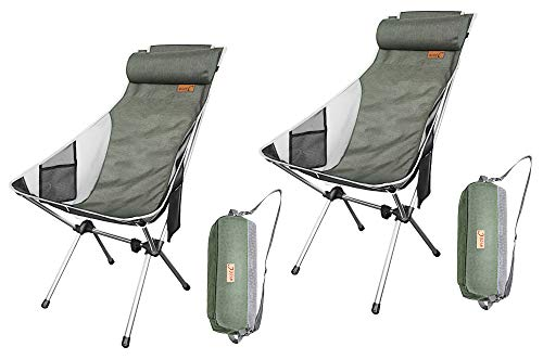 NiceC Compact and Heavy Duty Outdoor Chair