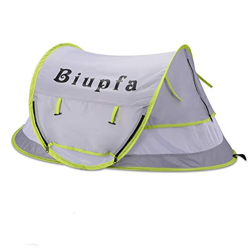 Biupfa Baby Portable Beach Play Tent with Mosquito Net