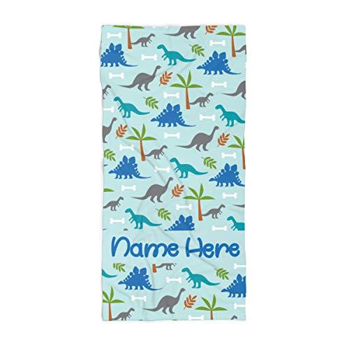 Dinosaur Bath Towels for Toddler Boys