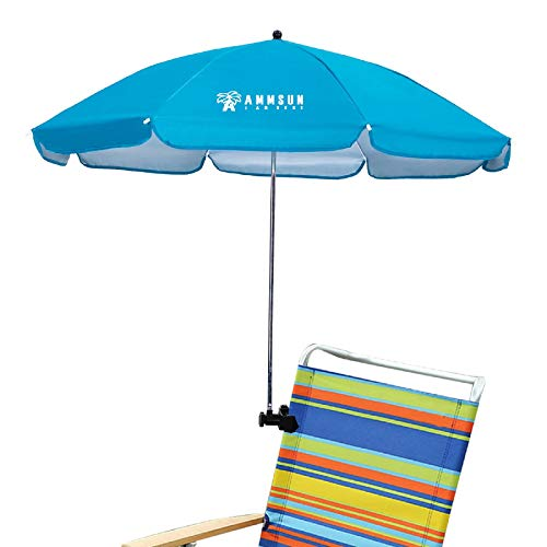 AMMSUN Chair Umbrella with Adjustable Clamp