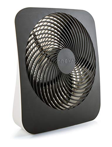 Battery operated 10-inch portable fan