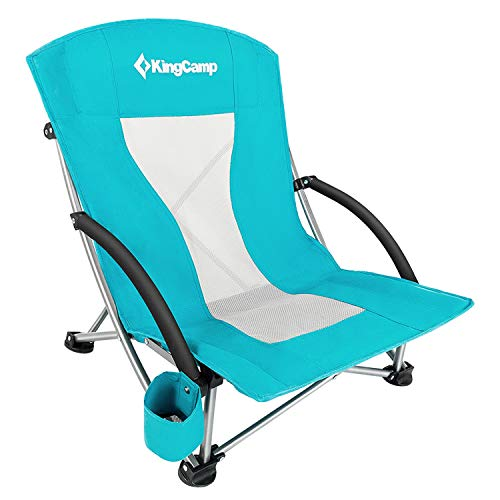 KingCamp Beach Chair With Full Padded Seating