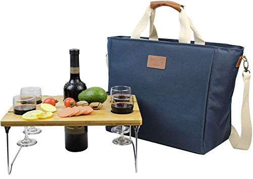 INNO STAGE 40L Cooler Bag with Wine Snack Table