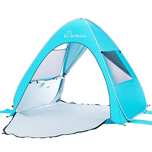 WolfWise UPF 50+ Pop Up Sun Shelter