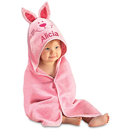 Lillian Vernon Hooded Personalized Towel for Babies