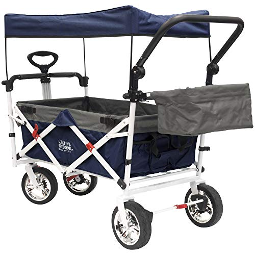 Creative Outdoor Collapsible Stroller Cart for Kids