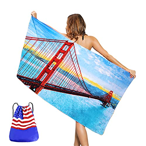 Beach Towel Oversized Backpack for Kids and Adults