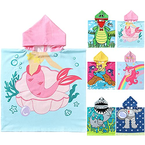 NovForth Toddler Towel for Beach with Hood