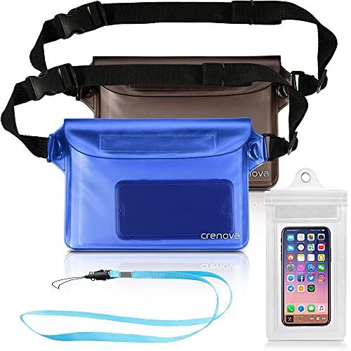Crenova 2 pack waterproof pouches