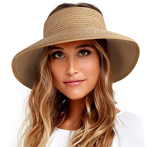 FURTALK Packable Sun Visor Hat for Women