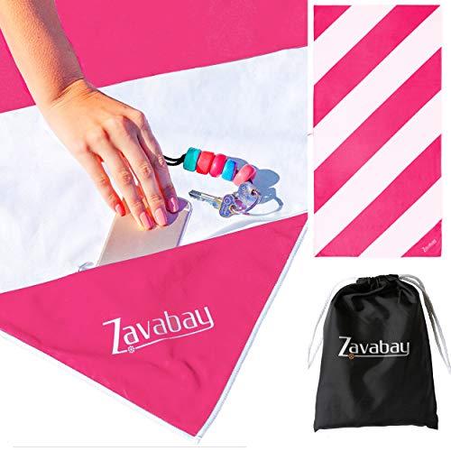 Zavabay Quick Dry, Sand Free Towel for Travel
