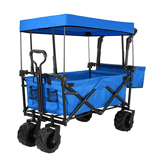 Push and Pull Collapsible Utility Wagon