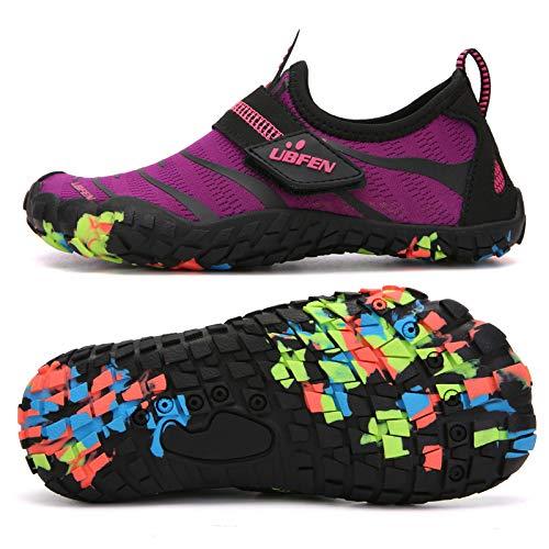 UBFEN Water Shoes for Kids Boys Girls Aqua Socks