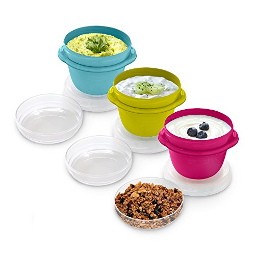 Rubbermaid TakeAlongs Snacking Food Containers