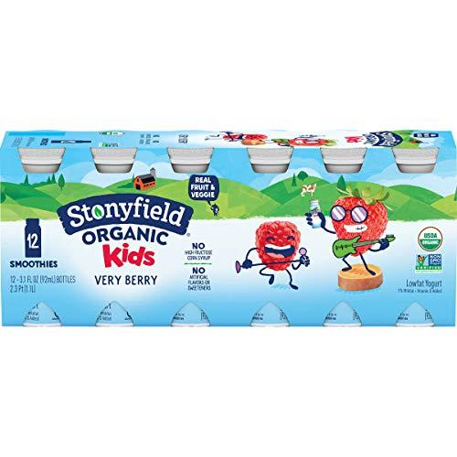 Stonyfield Organic Lowfat Yogurt Smoothies