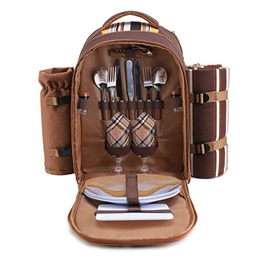 apollo walker Picnic Backpack Bag for 2 Person