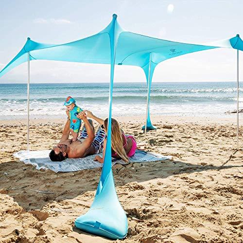 Sun Ninja Portable Beach Shade