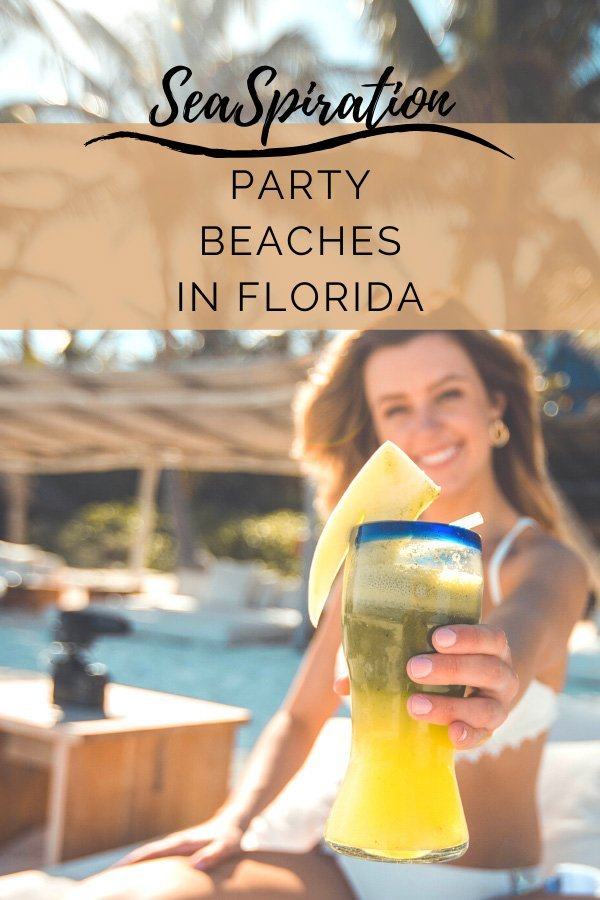 Party beaches in Florida