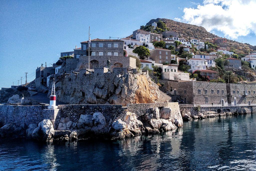 Hydra shoreline - Greece