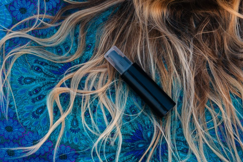 Vacation haircare products