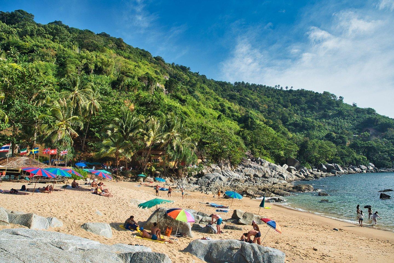 Secluded Beach Phuket Thailand