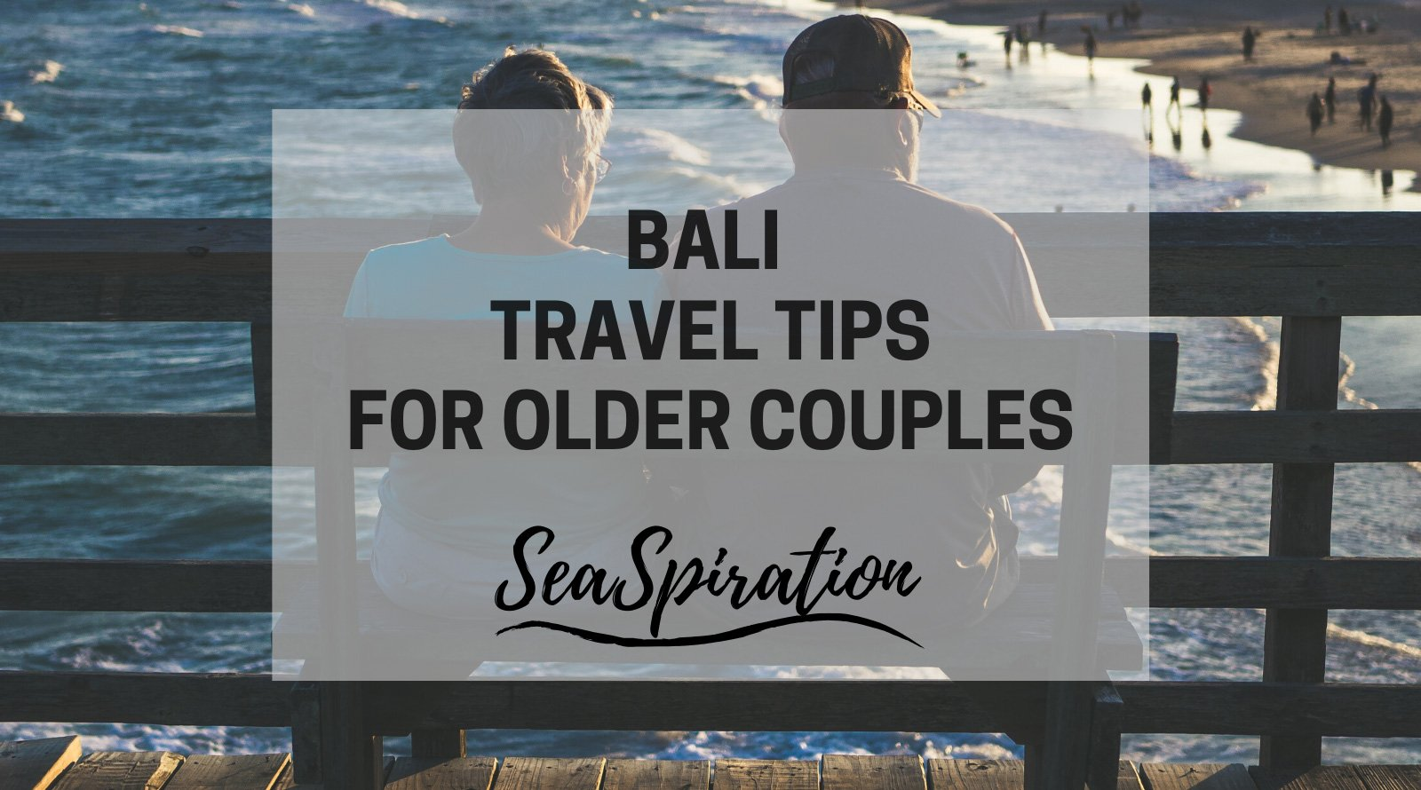 Bali for older couples