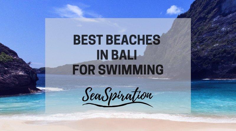 Bali swimming beaches