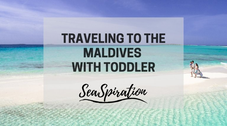 Maldives vacation with toddler