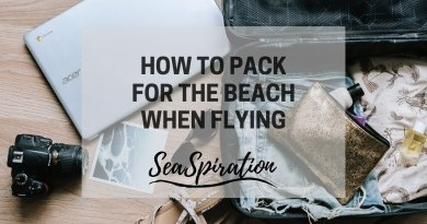 Packing for the beach when flying