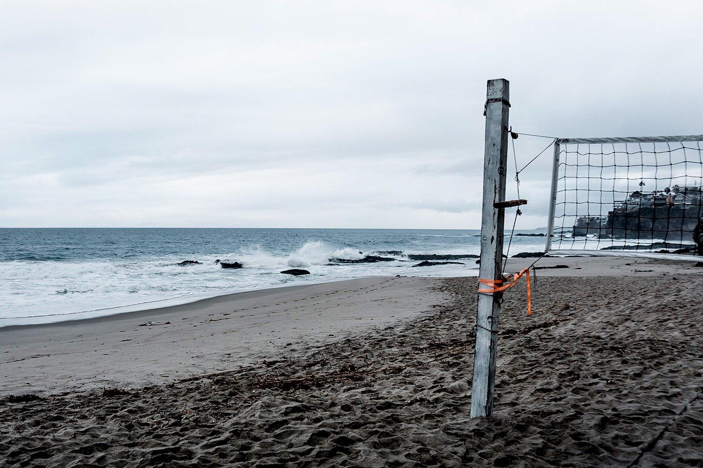 Beach volleyball - Thousand Steps Beach