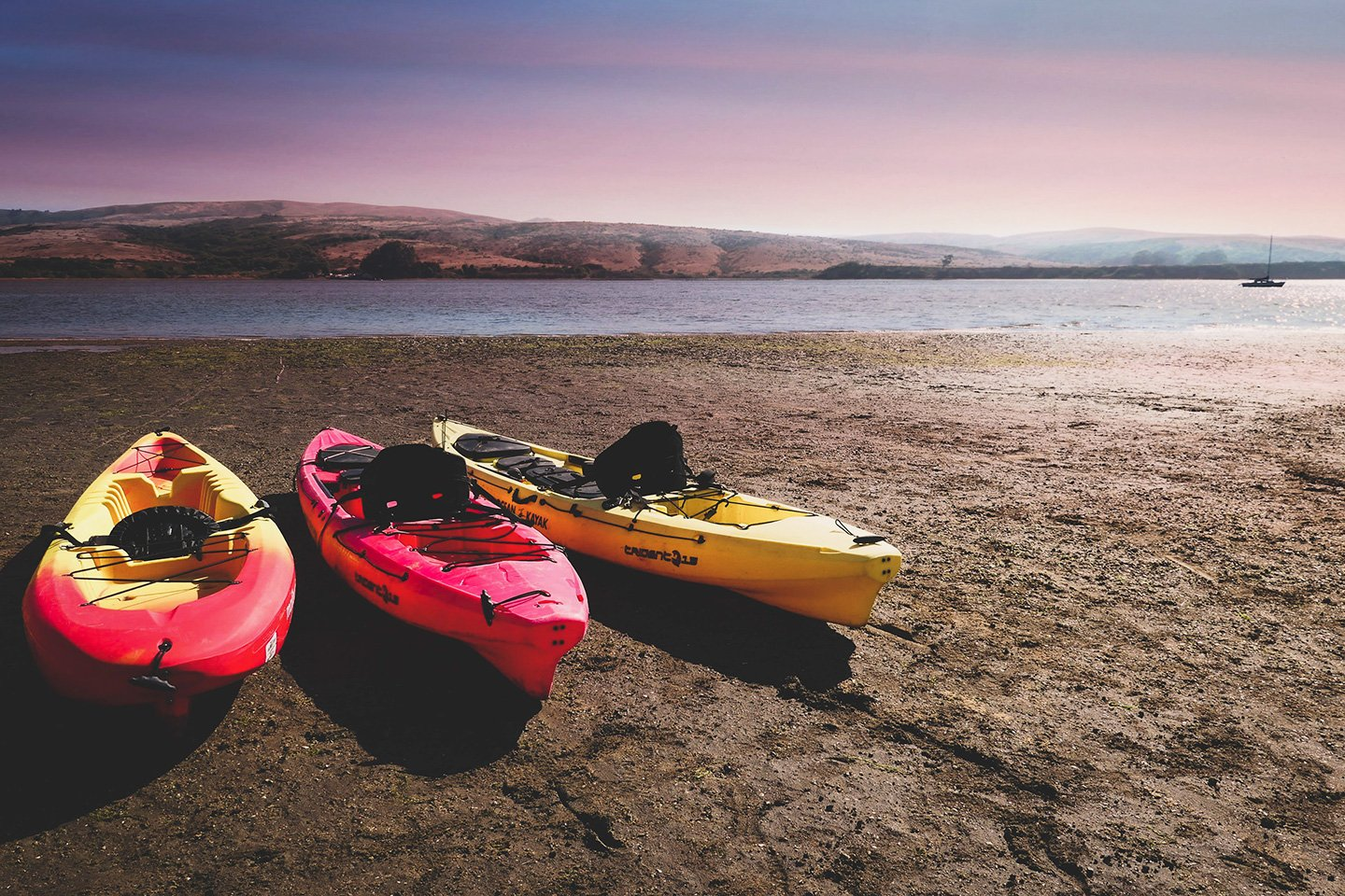 Kayaking Hearts Desire Beach Tomales Bay State Park
