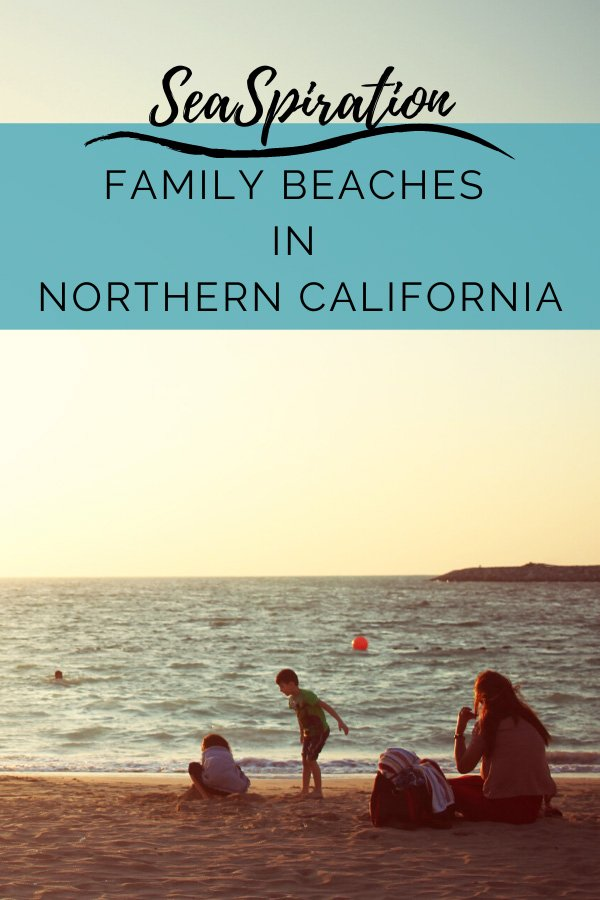 Kid friendly beaches in Northern California-pin