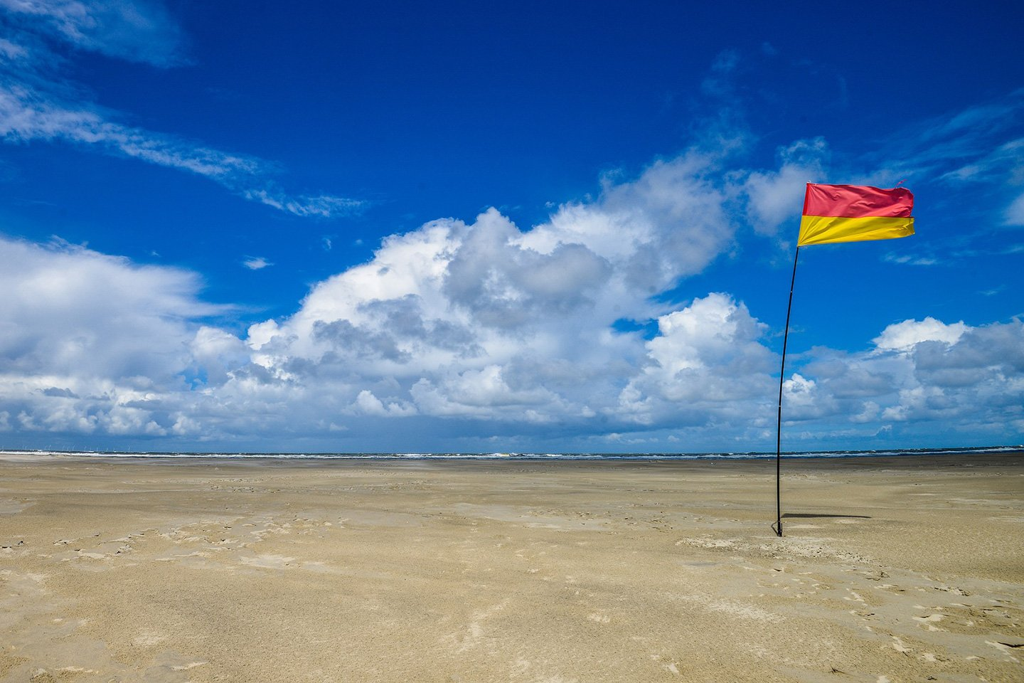 Red-yellow flag