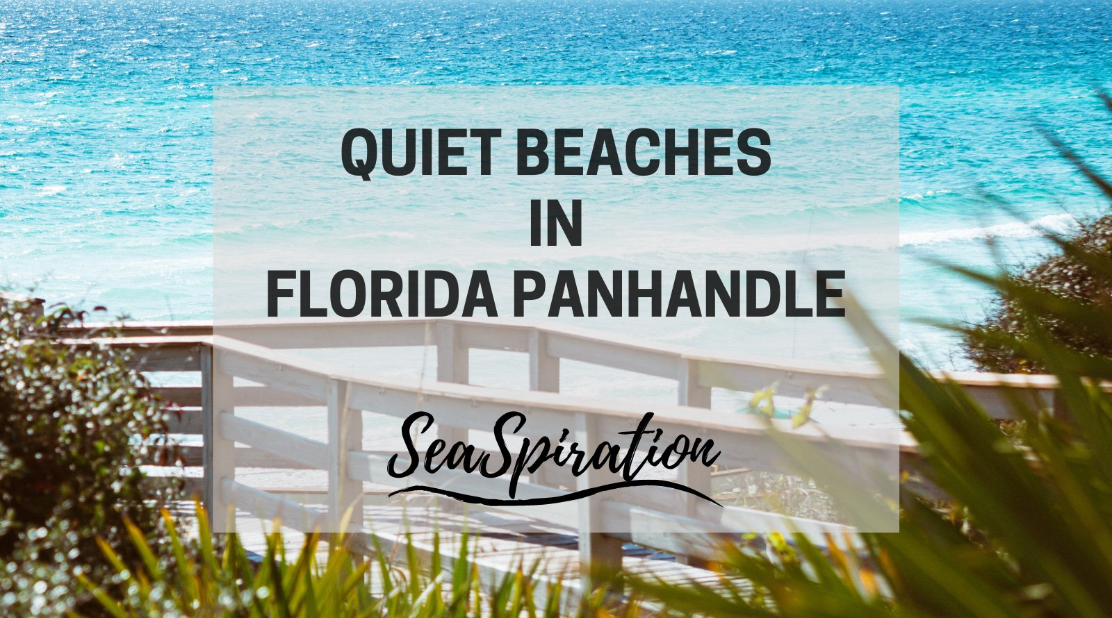 Least crowded beaches in Florida Panhandle