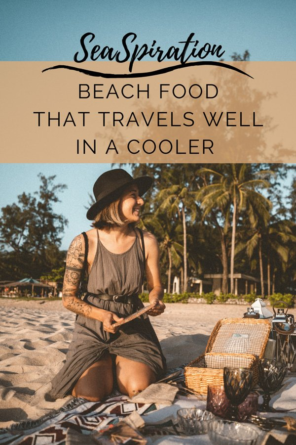 Cooler food ideas for the beach