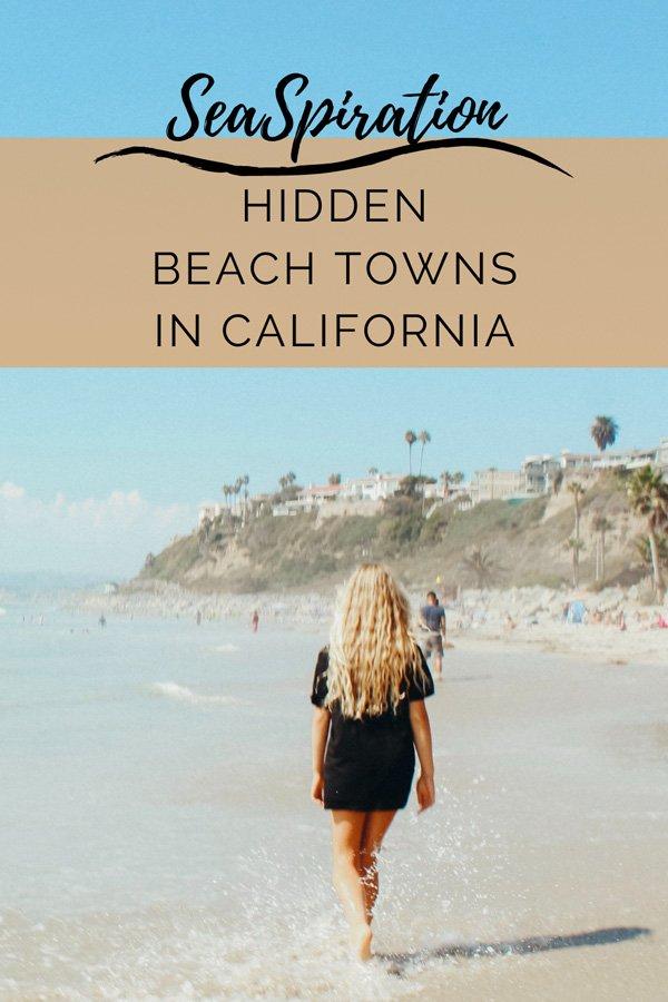 Hidden California beach towns