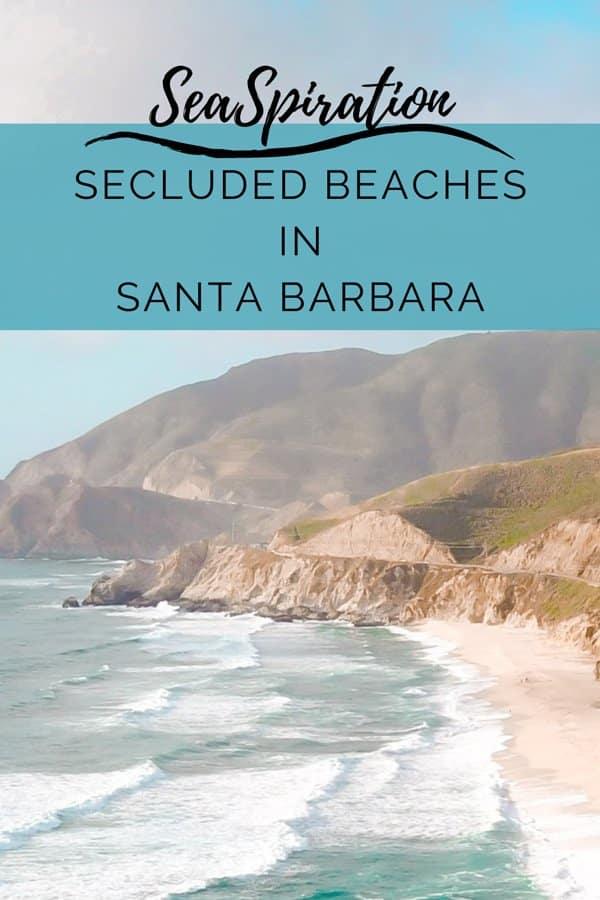 Quiet beaches in Santa Barbara