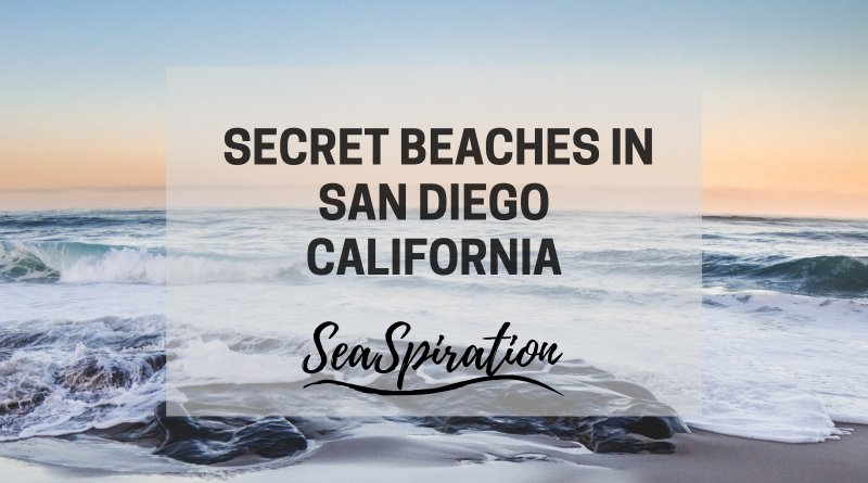 Secluded beaches in San Diego