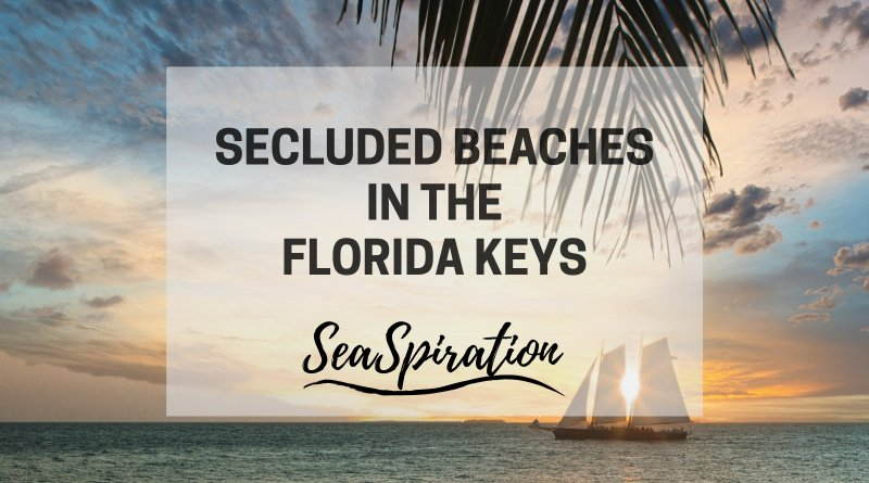 Secluded beaches in Florida Keys