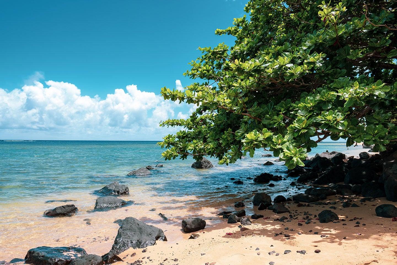 Anini beach - Kauai HI