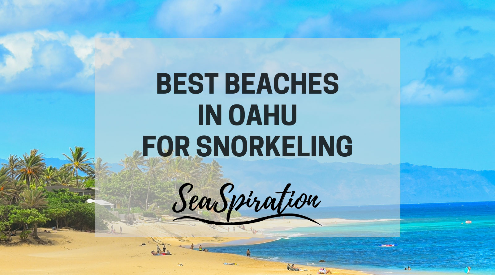 Best beaches in Oahu for snorkeling