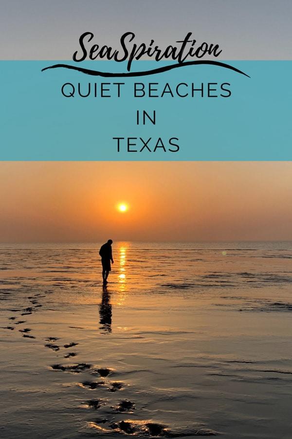 Qiuet beaches in Texas