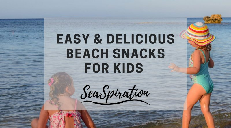 Beach snacks for toddlers